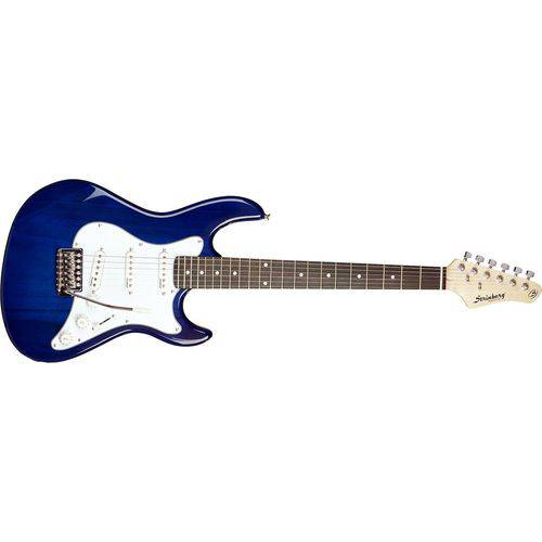 Guitarra Stratocaster Egs-216 Azul Tbl Strinberg