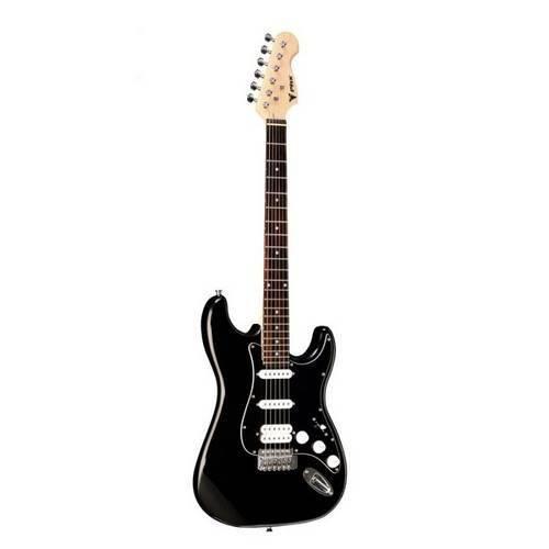 Guitarra Stratocaster Phoenix Strato Power Black