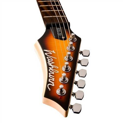 Guitarra Sunburst Basswood Flame Maple Rx5fvsb Wa