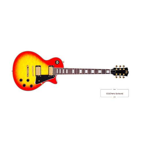 Guitarra Sx Lp Séries Eh3d Cherry Sunburst Cs
