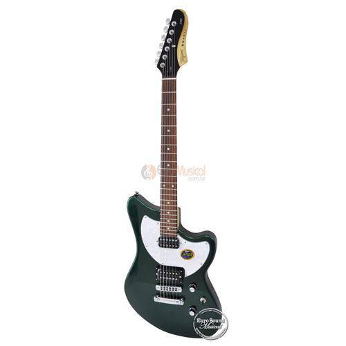 Guitarra Tagima Brasil Jet Rocker Verde Netalico