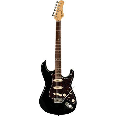 Guitarra Tagima T805 Escala Escura Escudo Tortoise Bk - Preta