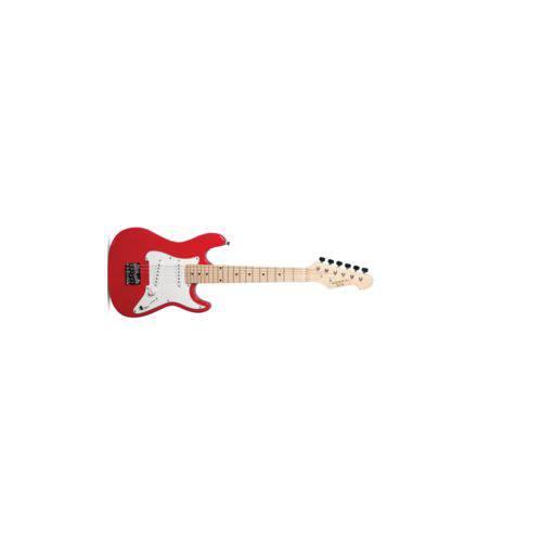 Guitarra Vogga Infantil Vcg 120 Kids Red