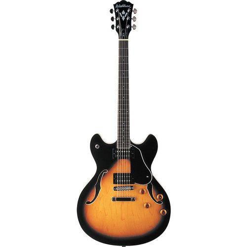 Guitarra Washburn Semi Acústica Hb30 Ts com Bag