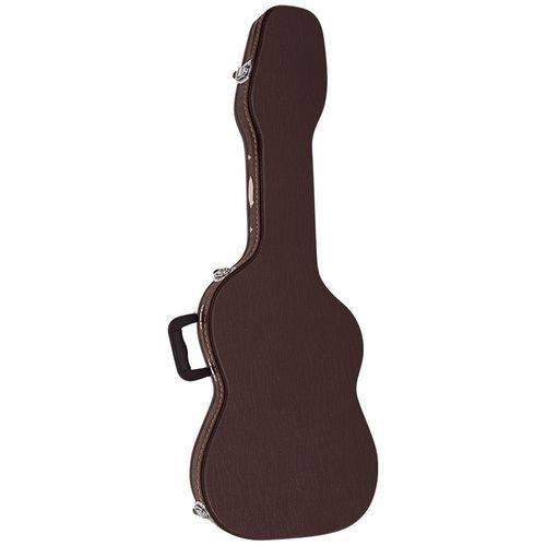 Hard Case Luxo Vogga para Guitarra Strato Vcglst Marrom