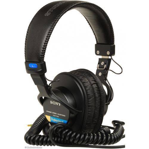 Headphone Sony Mdr-7506 Fone Profissional Gravação Acústico