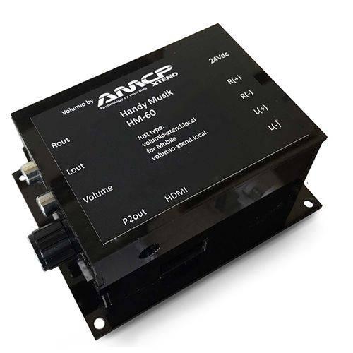 HM-60 Handy Musik - Amplificador Digital com 60W - AMCP