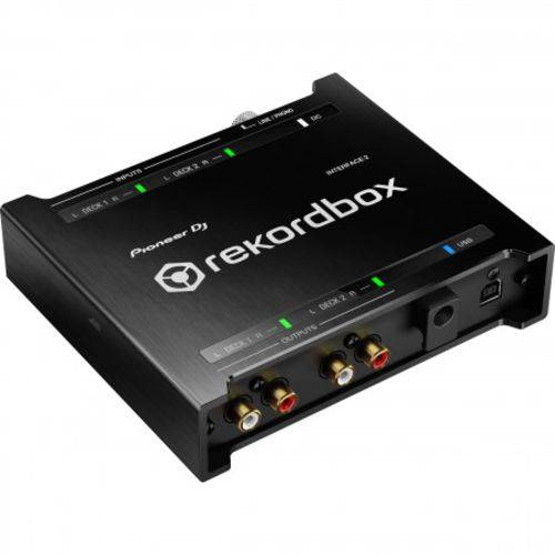 Interface de Áudio Pioneer DJ INTERFACE2 com RekordBox