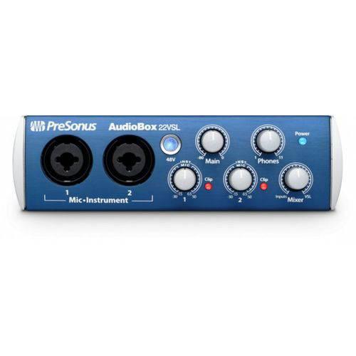 Interface de Audio PreSonus AudioBox 22 VSL
