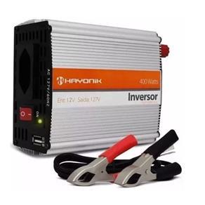 Inversor de Onda Modificada 400w 12VDC/127v Hayonik