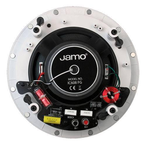 Jamo Ic606 Fg (Un) - Caixa Acústica de Embutir 2 Vias