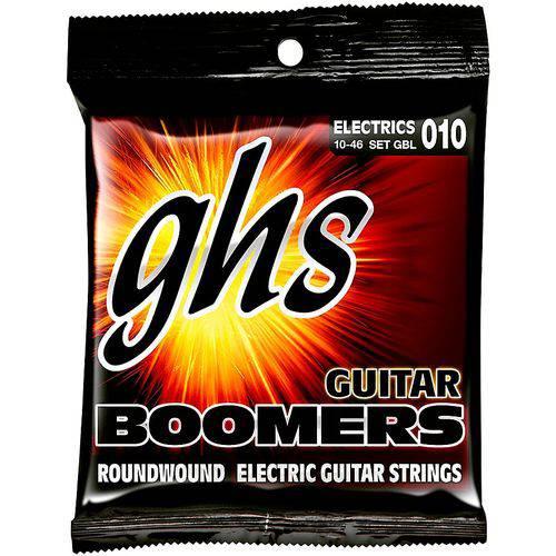 Jogo de Cordas para Guitarra 010 046 GHS Boomers Light GBL