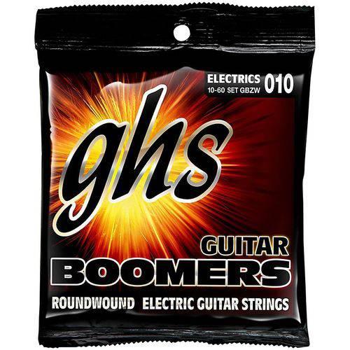 Jogo de Cordas para Guitarra 010 060 GHS Boomers Heavy Weight (Híbrido) GBZW
