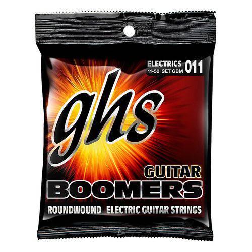 Jogo de Cordas para Guitarra 011 050 GHS Boomers Medium GBM