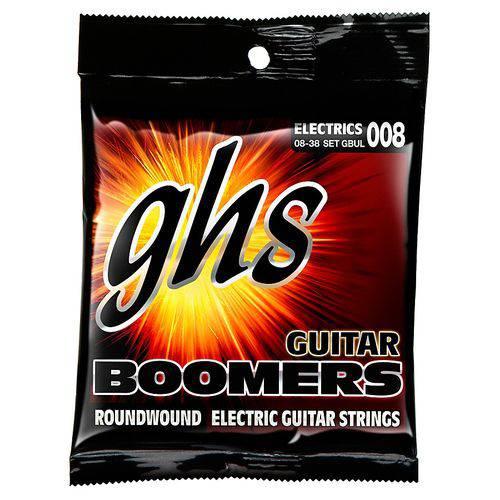 Jogo de Cordas para Guitarra 08 038 GHS Boomers Ultra Light GBUL