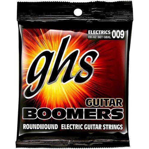 Jogo de Cordas para Guitarra 09 042 GHS Boomers Extra Light GBXL