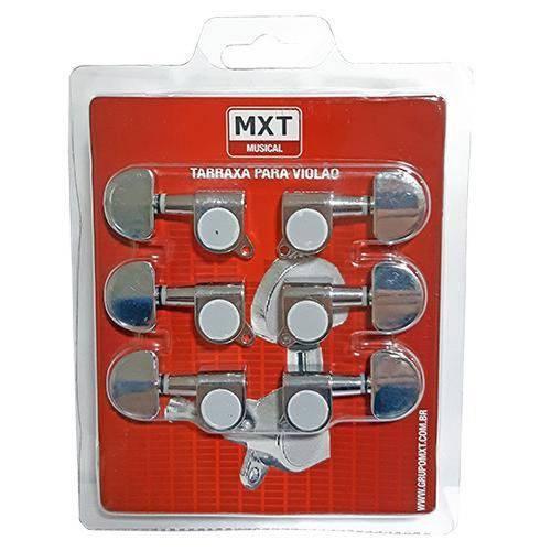 Jogo de Tarraxas MXT Blindadas P/ Violão ou Guitarra 3x3 - AC1718