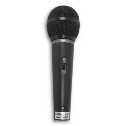 Jwl - Microfone com Fio Dinâmico Ba30