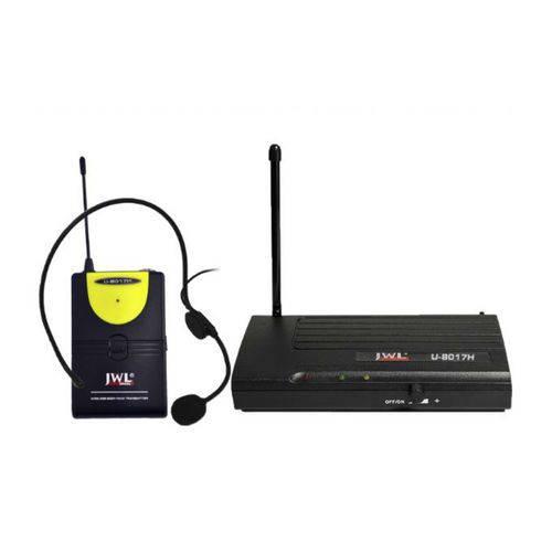 Jwl - Microfone Sem Fio Headset Uhf U8017h