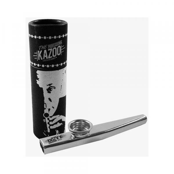 Kazoo Turbo Music em Metal Cromado - AC1815