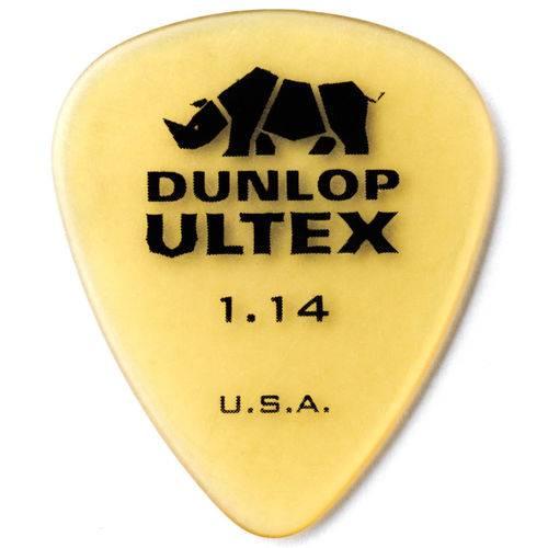 Kit 12 Palhetas Dunlop Ultex 1.14mm Guitarra Violão Baixo