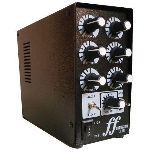 Kit 4 Arandela Som Embutir Amplificador Setorizador 3 Setor