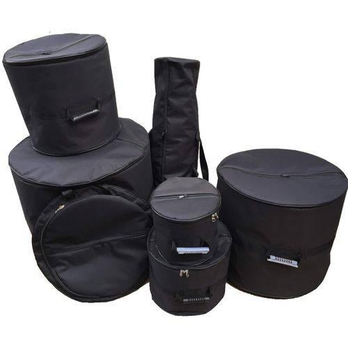 Kit Bag Bateria 7 Peças Acolchoada - Hibag