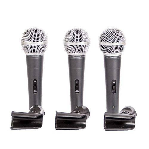 Kit Microfones com Fio Lcm1800 Lexsen