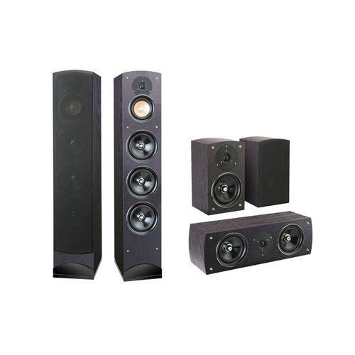 Kit Caixas Acústicas Home Theater 5.0 Mod Proxima - Pure Acoustics