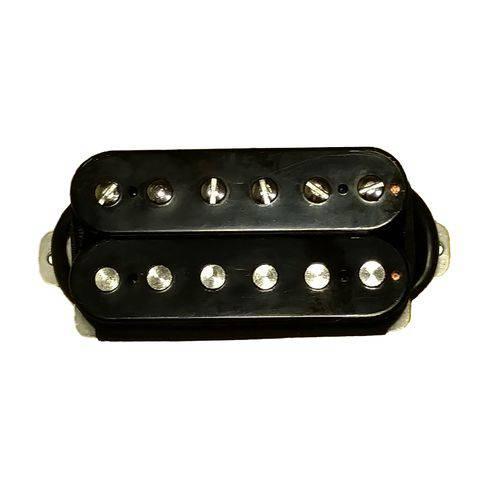 Kit Captadores Malagoli Standard Hb4 Pretos para Braço e Ponte Guitarra
