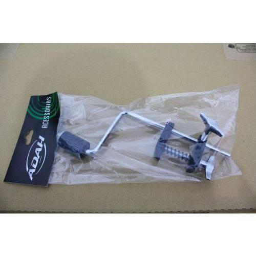 Kit com 6 Clamps para Microfone Adah com Presilha para Aro