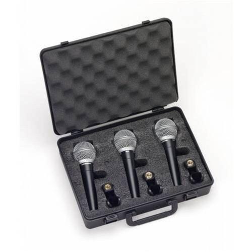 Kit com 3 Microfones R21 - Samson