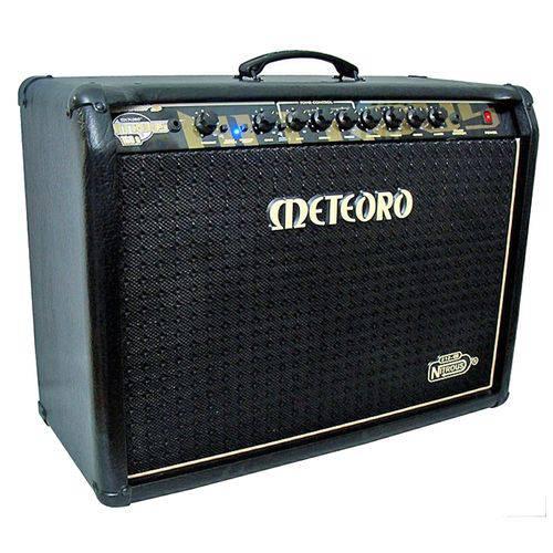 Kit Cubo Amplificador Guitarra Gs160 Pre Valvulado Meteoro + Acessórios