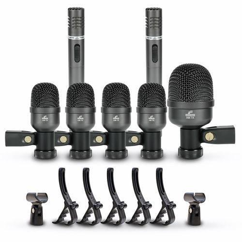 Kit de Microfone Arcano para Bateria Am-7a