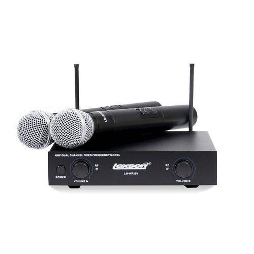 Kit de Microfone Sem Fio Lexsen LM WF 258