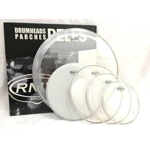 Kit de Peles para Bateria Rmv Duo Clear 12/13/16/22/14c