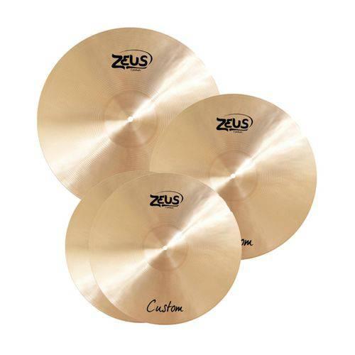 Kit de Pratos Zeus Custom B 20 SET C