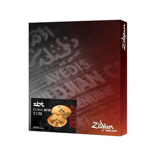 Kit de Pratos Zildjian Zbt Expander Zbte2p 18crash 18china