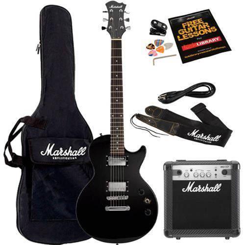 Kit Guitarra e Amplificador Mgap-B Marshall