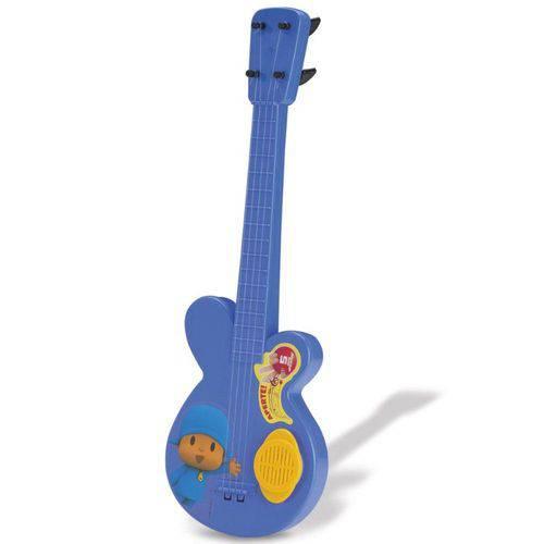 Kit Guitarra Pocoyo e Tamborete Pocoyo - Cardoso