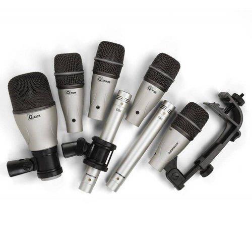 Kit Microfone Samson Dk7 P/Bateria, 7 Peças