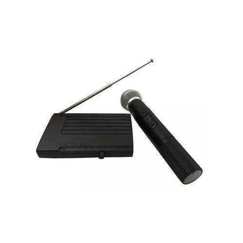 Kit Microfone Sem Fio Wireless Receptor Profissional