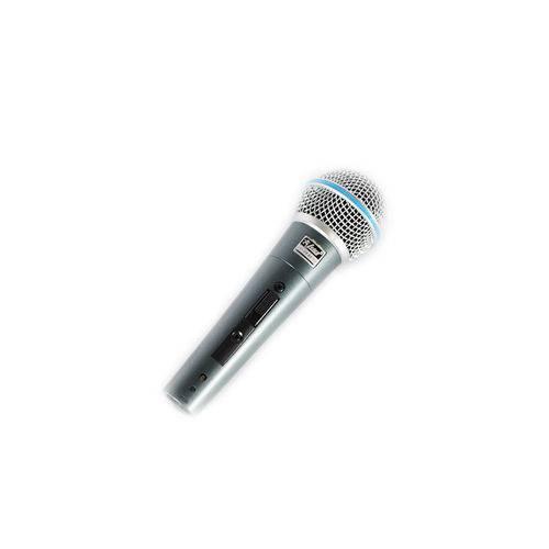 Kit Microfones Leacs Lc-59 Beta com Fio 3 Peças no Kit