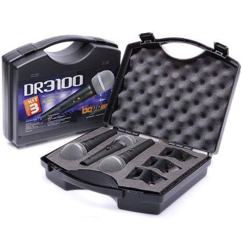 Kit Microfones LL Audio DR 3100 LL