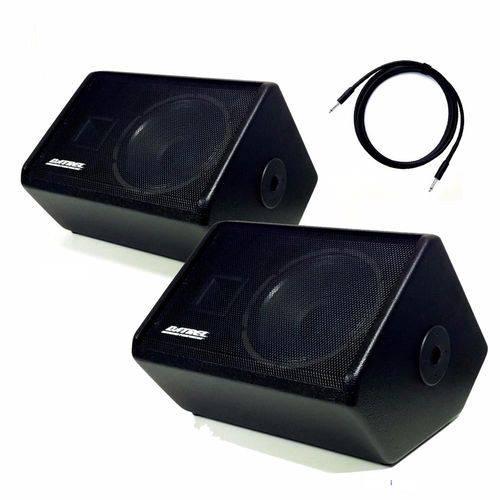 Kit Monitor Retorno Ativo + Passivo Datrel MA12-250 500w Rms