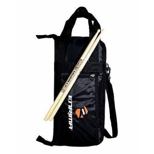 Kit Par de Baquetas + Estojo Bag Luxo Porta Baquetas Enrima