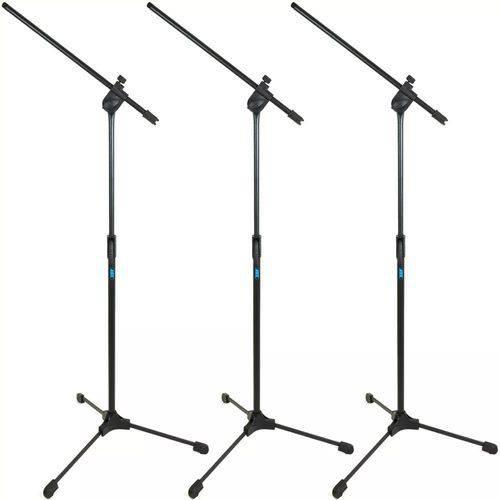 Kit 3 Pedestal Girafa para Microfone Ask Tps