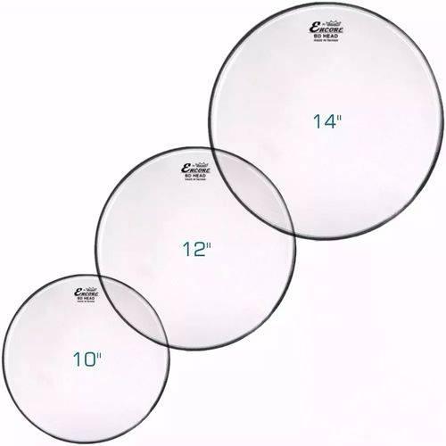 """Kit Pele Remo Encore Hidraulica 10"""",12"""",14"""""""