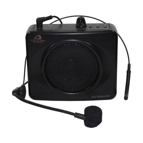 Kit Professor Portátil e Microfone Headset Ka-s66 Usb Kadosh