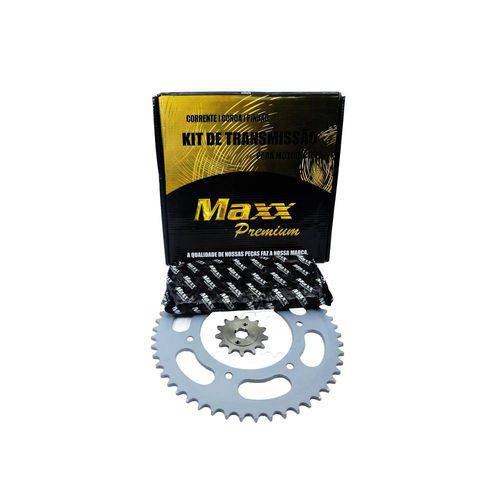 Kit Relação Transmissão Maxx Yamaha Xt660 Sem Retentor 520h Aço 1045 (Todos os Anos)